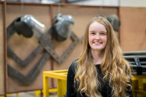 Danielle - lead water backed welding engineer