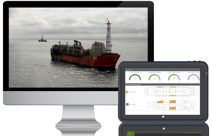 Asset life desktop and tablet graphic image