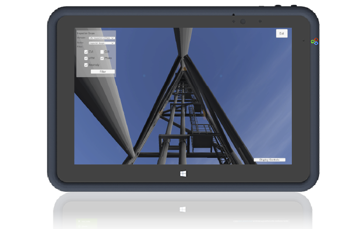 inspection graphic tablet image