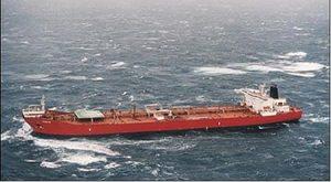 MV Kometik - a shuttle tanker operating off the coast of Newfoundland