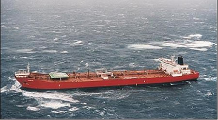 MV Kometik - a shuttle tanker operating off the coast of Newfoundland